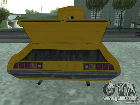 Ford Torino 70 for GTA San Andreas back view