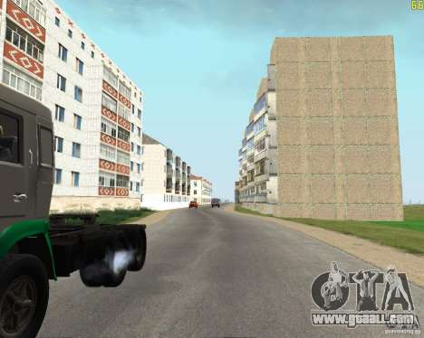 A Busaevo for the CD for GTA San Andreas fifth screenshot