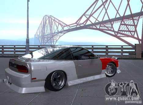 Nissan 240SX Tuned for GTA San Andreas right view