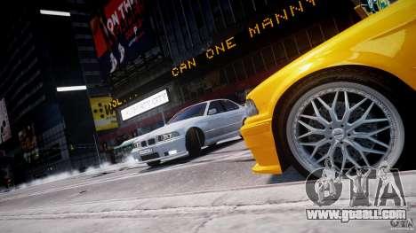 BMW 318i Light Tuning v1.1 for GTA 4 wheels