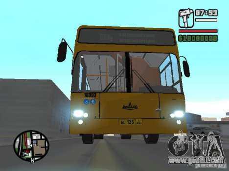 MAZ 103.465 for GTA San Andreas back left view