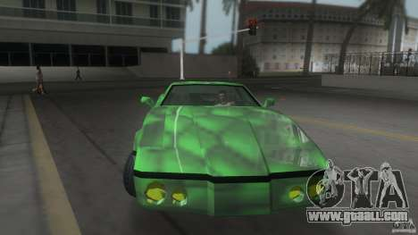 Reptilien banshee for GTA Vice City right view