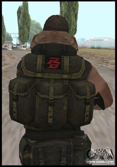 [Point Blank] Terrorist for GTA San Andreas third screenshot