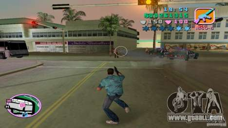 Shooting With One Hand for GTA Vice City forth screenshot