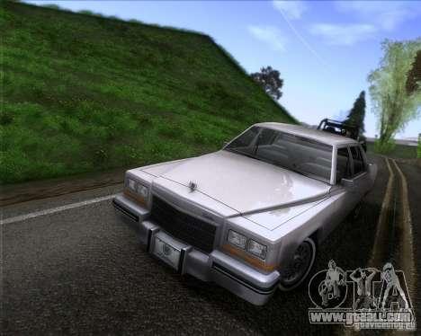 Cadillac Fleetwood Brougham 1985 for GTA San Andreas