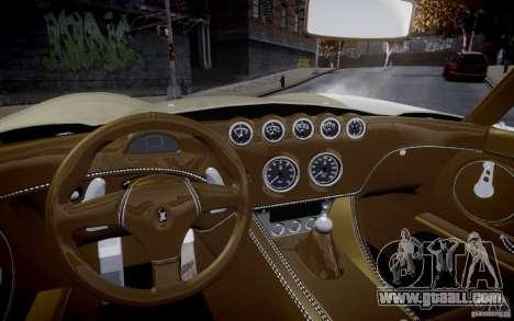 Wiesmann MF3 Roadster Final for GTA 4 right view