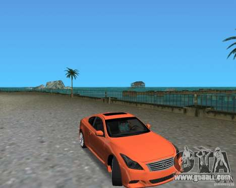 Infinity G37 for GTA Vice City