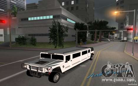 HUMMER H1 limousine for GTA Vice City