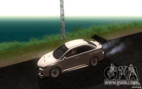 Mitsubishi Lancer EVO X drift Tune for GTA San Andreas left view