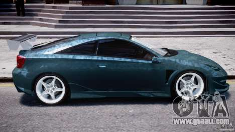 Toyota Celica Tuned 2001 v1.0 for GTA 4 bottom view