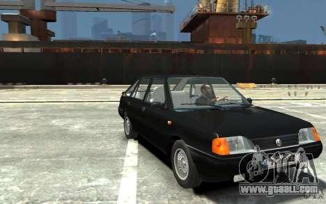FSO Polonez Caro 1.4 16V for GTA 4 back view