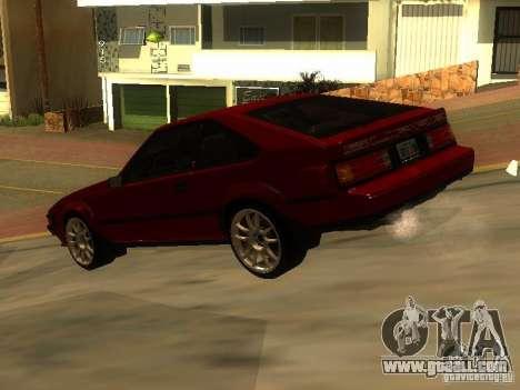 Toyota Celica Supra for GTA San Andreas left view