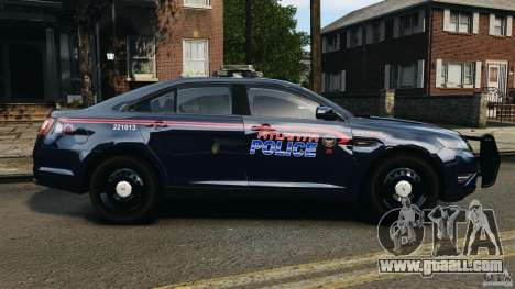 Ford Taurus 2010 Atlanta Police [ELS] for GTA 4 left view