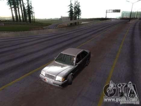 Mercedes-Benz E500 W124 for GTA San Andreas right view