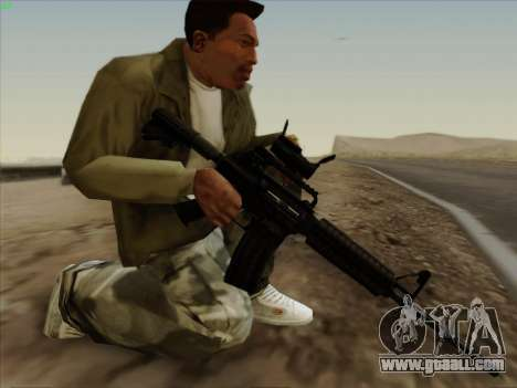 Colt Commando Aimpoint for GTA San Andreas second screenshot