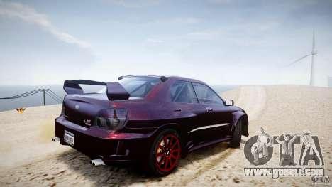 Subaru Impreza STI Wide Body for GTA 4