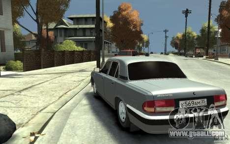 GAZ Volga 31105 for GTA 4 back left view