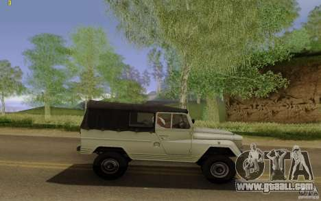 UAZ 460B for GTA San Andreas left view
