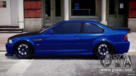 BMW M3 E46 Tuning 2001 for GTA 4 left view