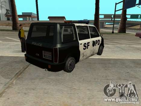Moonbeam Police for GTA San Andreas left view
