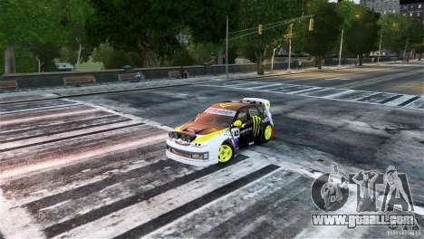 Subaru Impreza WRX STI Rallycross Monster Energy for GTA 4