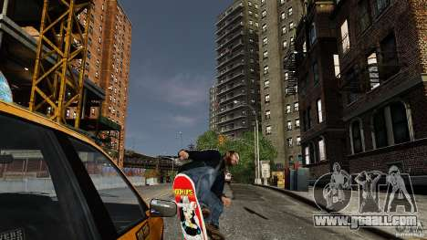 Skateboard # 3 for GTA 4 right view