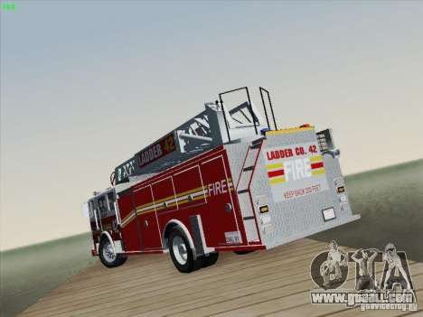 Seagrave Ladder 42 for GTA San Andreas bottom view