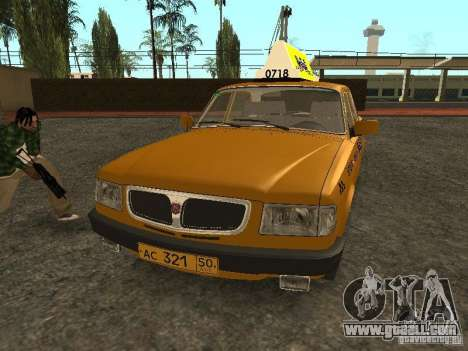 GAZ 3110 Taxi for GTA San Andreas