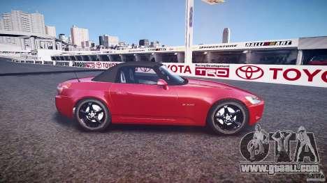 Honda S2000 2002 v2 for annealing for GTA 4 left view