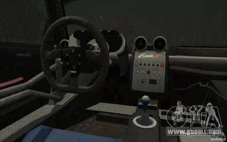 Pagani Zonda Racing Edit for GTA San Andreas upper view