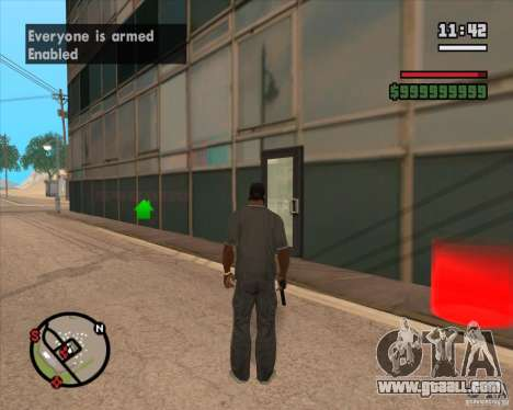 CJ-Mayor for GTA San Andreas second screenshot