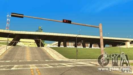Rusty traffic lights for GTA San Andreas second screenshot
