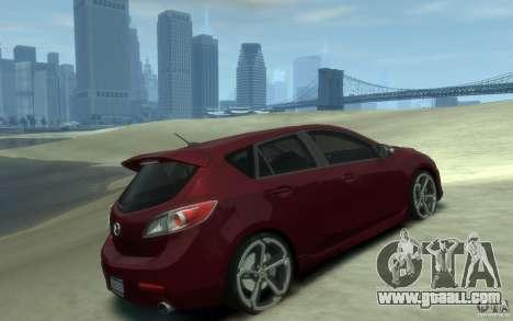 Mazda 3 MPS 2010 for GTA 4 right view
