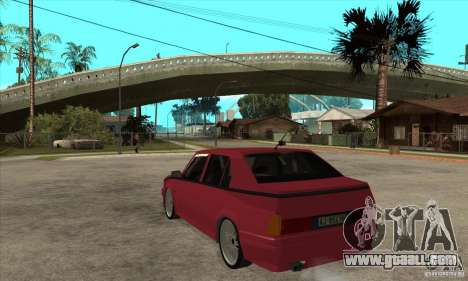 Alfa Romeo 75 Drifting for GTA San Andreas back left view