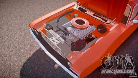 Dodge Challenger v1.0 1970 for GTA 4 bottom view