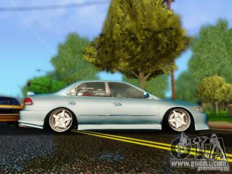 Honda Accord 2001 for GTA San Andreas back left view