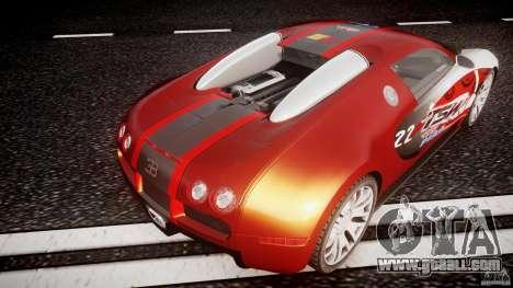Bugatti Veyron 16.4 v1 for GTA 4 bottom view