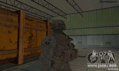 Skin Marine for GTA San Andreas forth screenshot