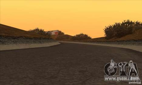 The route from NFS Prostreet for GTA San Andreas fifth screenshot