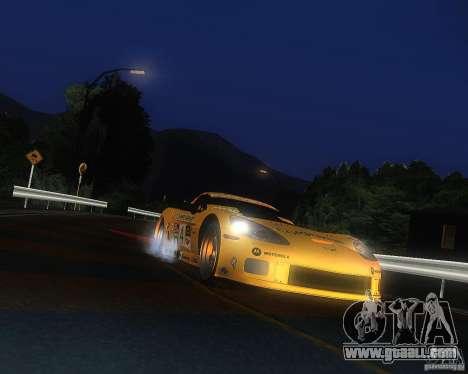 Chevrolet Corvette Drift for GTA San Andreas