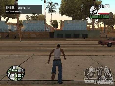 PARKoUR for GTA San Andreas second screenshot
