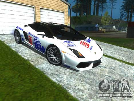 Lamborghini Gallardo LP560-4 for GTA San Andreas upper view