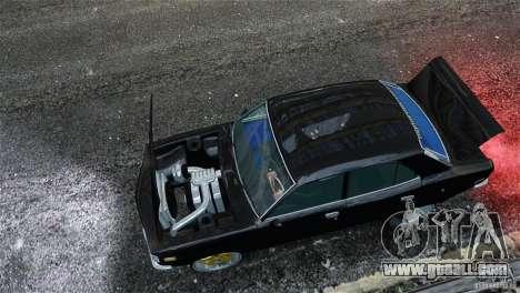 Mazda RX3 for GTA 4 inner view