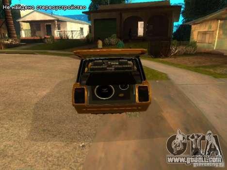VAZ 2104 tuning for GTA San Andreas back view