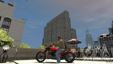 The Lost and Damned Bikes Nightblade for GTA 4