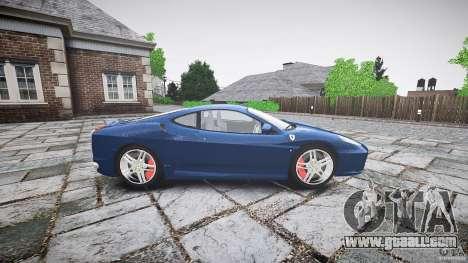 Ferrari F430 v1.1 2005 for GTA 4 left view