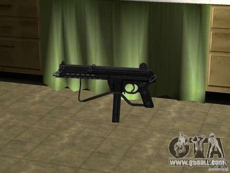 Walther MPL for GTA San Andreas