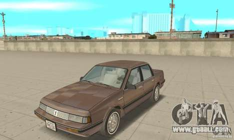 Oldsmobile Cutlass Ciera 1993 for GTA San Andreas left view