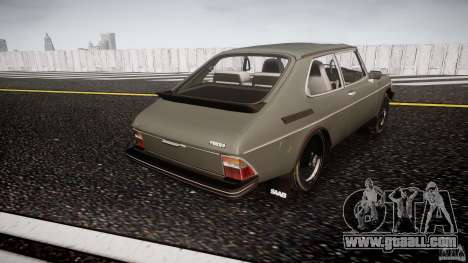 SAAB 99 Turbo 1978 for GTA 4 side view