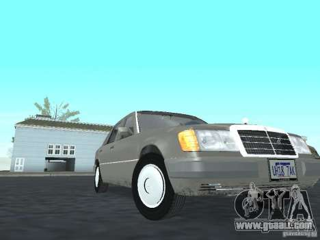 Mercedes-Benz 250D for GTA San Andreas back view